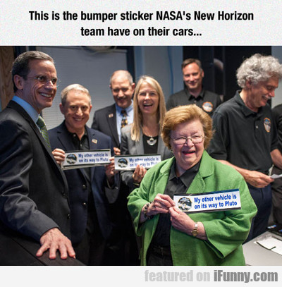 this is the bumper sticker...