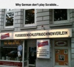 Why German Don't Play Scrabble...