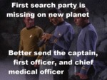 First Search Party Is Missing On New Planet...