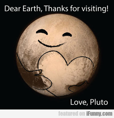 Dear Earth...