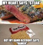 My Heart Says Steak...