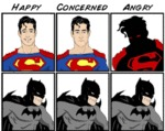 Happy, Concerned, Angry...