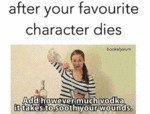 After Your Favorite Character Dies...