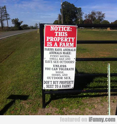 Notice: This Property...