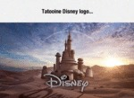Tatooine Disney Logo...