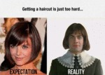 Getting A Haircut Is Just Too Hard...
