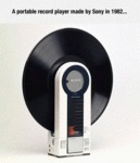 A Portable Record Player...