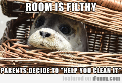 Room Is Filthy...