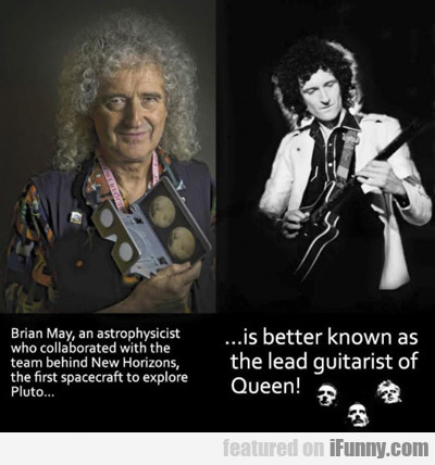 Brian May, An Astrophysicist...