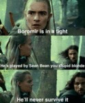 Boromir Is In A Fight..