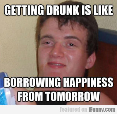 Getting Drunk Is Like...