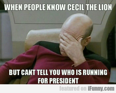 When People Know Cecil The Lion...