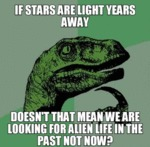 If Stars Are Light Years Away...