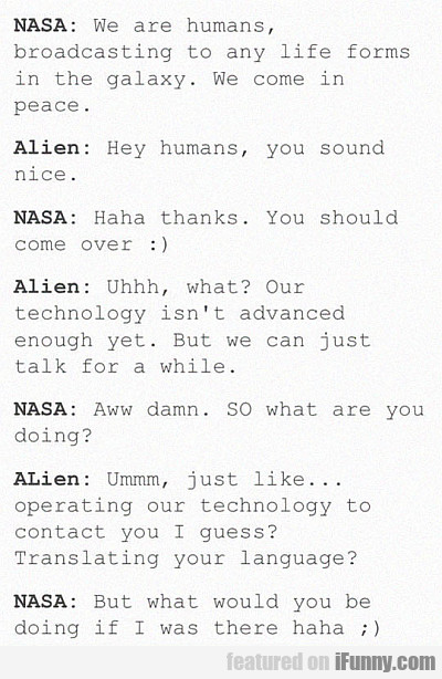Nasa: We Are Humans