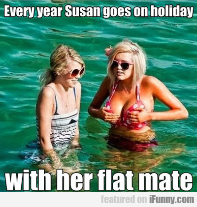Every Year Susan Goes On Holiday...