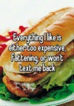 Everything I Like Is Too Expensive...