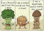 I Am A Broccoli And I Look Like A Tree