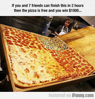 If You And Seven Friends...