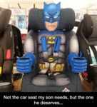 Not The Car Seat My Son Needs...