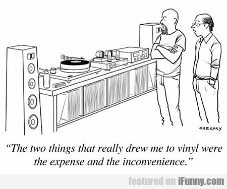 The Two Things That Really Drew Me To Vinyl