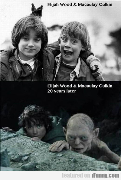 Elijah Wood And Macaulay Culkin..