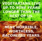 Vegetarians Live Up To Nine Years Longer...