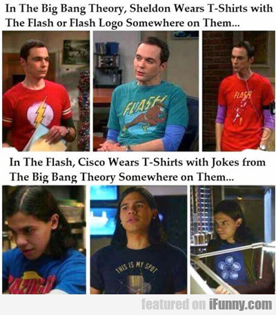 In The Big Bang Theory...