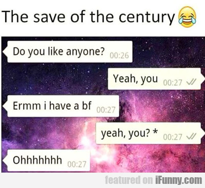 The Save Of The Century...