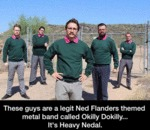 These Guys Are A Legit Ned Flanders Themed...
