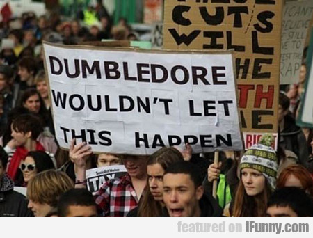 Dumbledore Wouldn't Let This Happen...