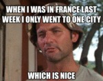 When I Was In France Last Week...