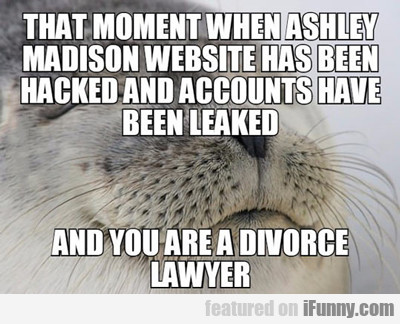 That Moment When Ashley Madison...