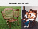 A Very Clever Story Time Chair..