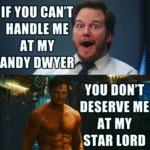 If You Can't Handle Me At My Andy Dwyer...