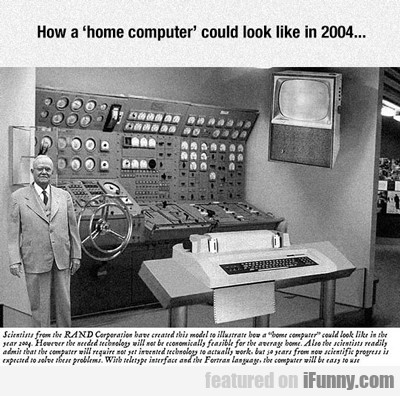How A Home Computer...