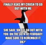 Finally Ask My Crush To Go Out With Me...