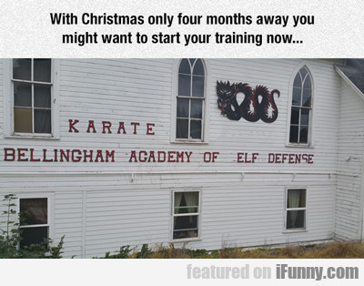 With Christmas Only Three Months Away...