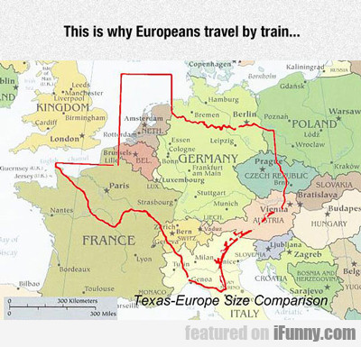 This Is Why Europeans Travel By Train...