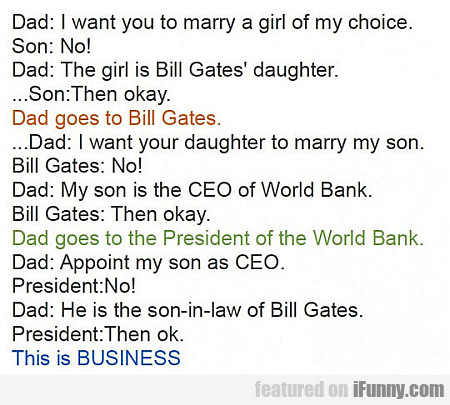 How Business Is Done