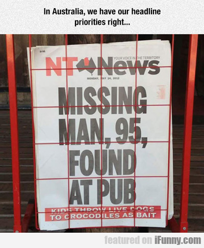in australia, we have our headline priorities...