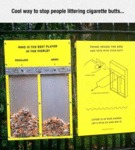 Cool Way To Stop People Littering...