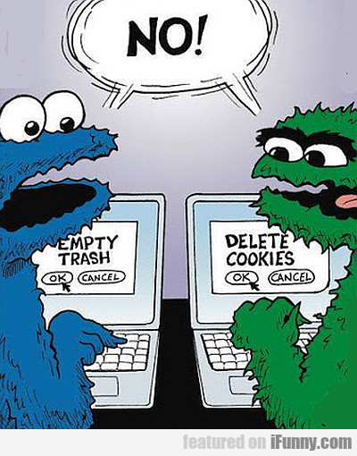 Empty Trash, Delete Cookies...