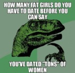 How Many Fat Girls...
