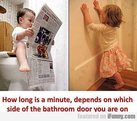 How Long Is A Minute Depends On...