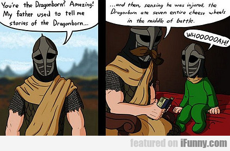 You're The Dragonborn?