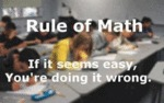 Rule Of Math...