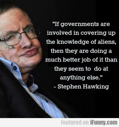 If Governments Are Involved In...