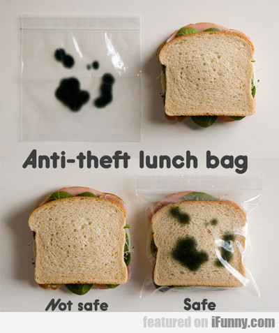 Anti-theft Lunch Bag...