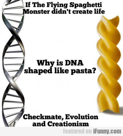 If The Flying Spaghetti Monster Didn't Create...