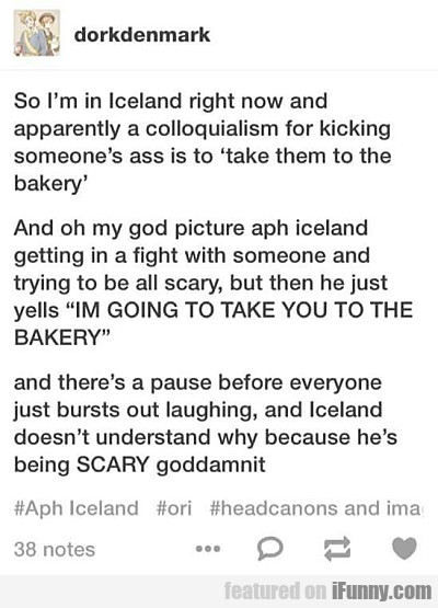 so i'm in iceland right now...
